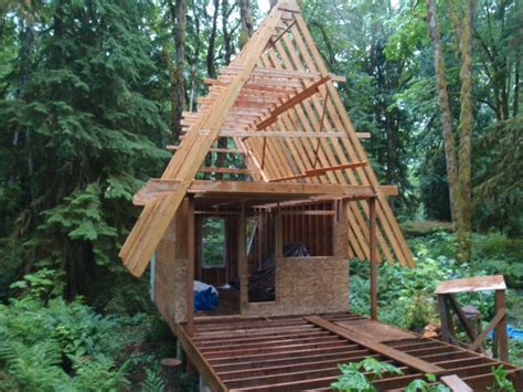 small a frame cabins small cabin plans a frame pads pinterest cabin tiny