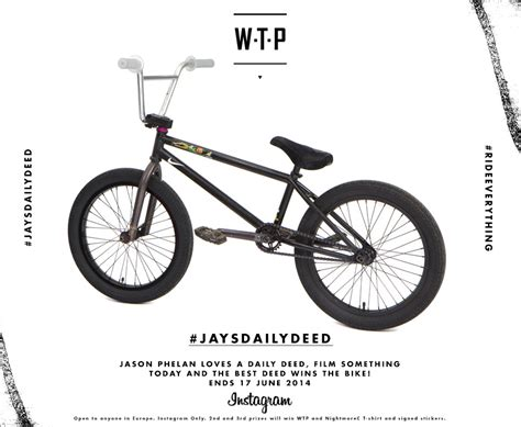 Bmx Bike Giveaway - jason phelan s daily deed bike giveaway the boardroom bmx and skate