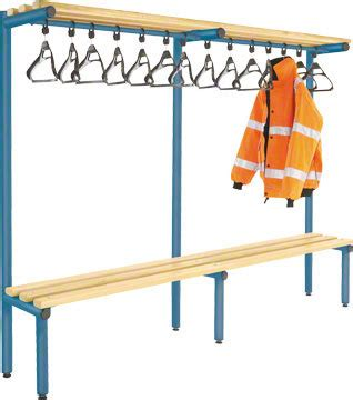 overhead bench 2000mm single sided overhead bench light ash