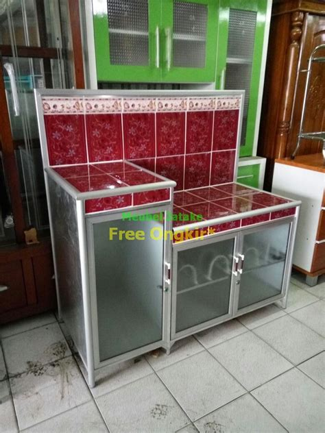 Rak Piring Tangerang jual meja dapur meja kompor keramik ukuran jumbo