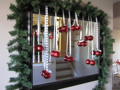 mirror decorations christmas mirror emerald interiors blog