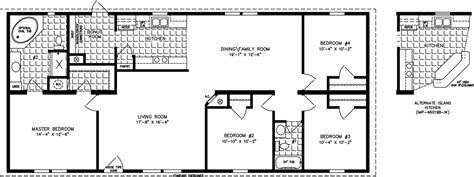 1600 sq ft floor plans the imperial imp 46019b manufactured home floor plan