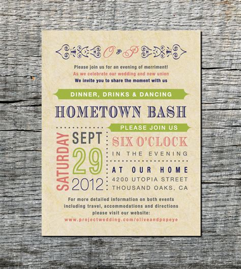 wedding reception invite sles reception card wedding invitation fashioned style diy printable onepaperheart