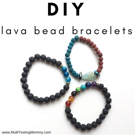 lava bead bracelet how to make your own for and adults