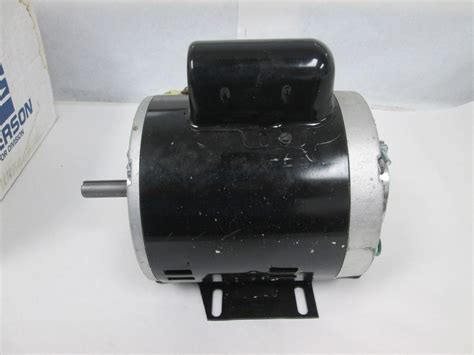 location of capacitor on furnace blower motor emerson lennox 32481 p 8 4702 c63cxfwb 4287 3 4hp blower fan motor 1725 rpm ebay