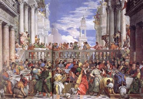 Wedding At Cana Painting by The Wedding At Cana Veronese Paolo Caliari Wholesale