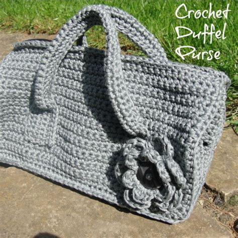 crochet overnight bag pattern crochet duffel purse pattern look at what i made