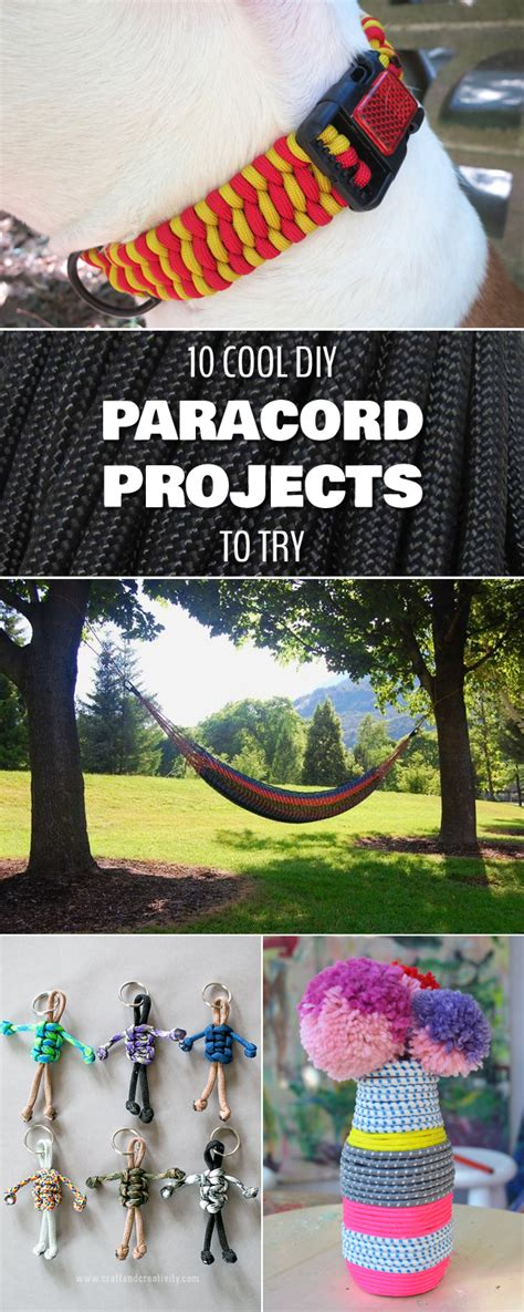 diy projects to try 10 cool diy paracord projects to try