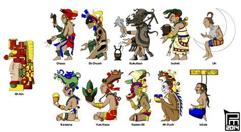 imagenes mayas con sus nombres los dioses mayas mas reconocidos en la cultura maya