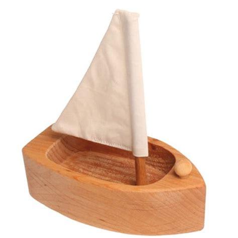 houten zeilboot houten zeilboot voertuigen houten speelgoed speelgoed
