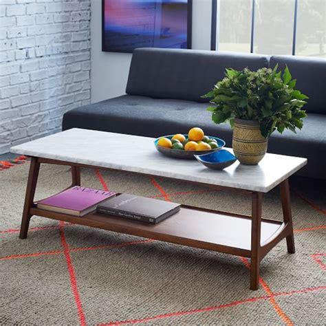 elm reeve coffee table reeve mid century rectangular coffee table elm