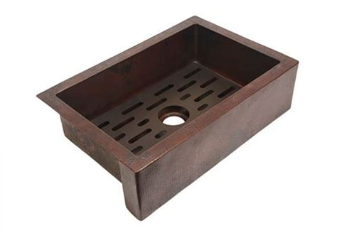 traxx grate for copper kitchen sink artisan crafted home
