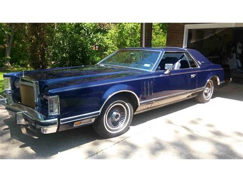 1979 lincoln v 1979 lincoln continental v for sale classiccars