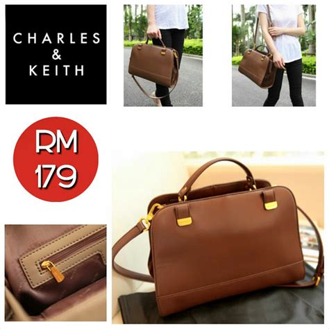 Charles Keith Boxyboxie Brown charles keith bag brown camel sold out shantek collection