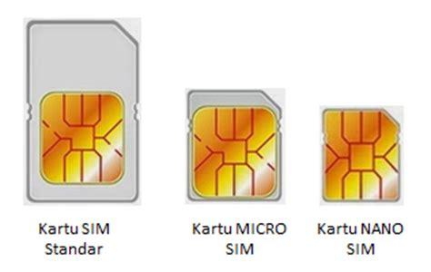 membuat sim nano dua cara mudah dan murah memotong sim card infotech review