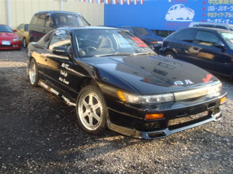 nissan 180sx modified modified nissan 180sx turbo krps13 for sale car on track