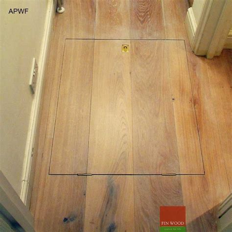for floor access panels for wooden floor