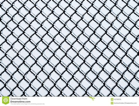 fence pattern photography frozen medium chain link fence pattern stock image