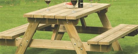 types of benches picnic benches plastic wooden round a frame type