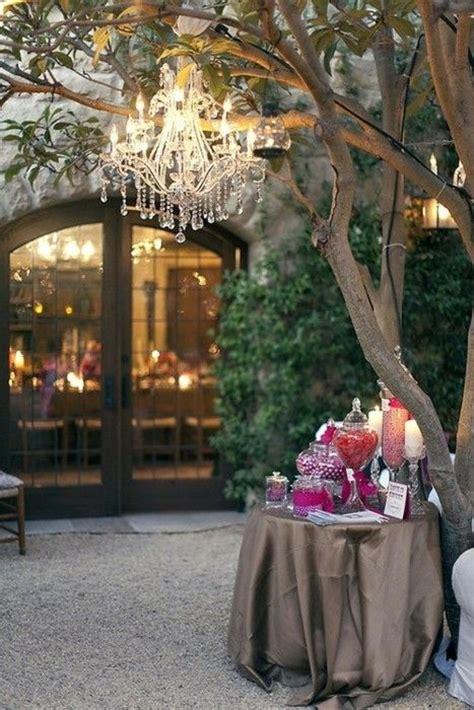 Diy Outdoor Wedding Lighting Ideas Diy Chandeliers And Outdoor Lighting 2413107 Weddbook