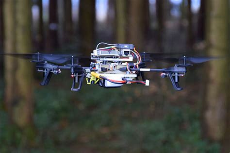 Search For Lost Drones Search For Lost By Following Forest Trails Trackimo