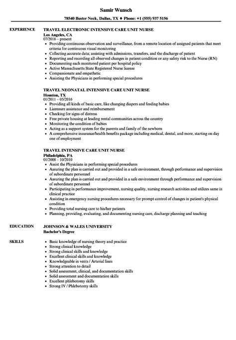 triage nurse resume sample sample resume