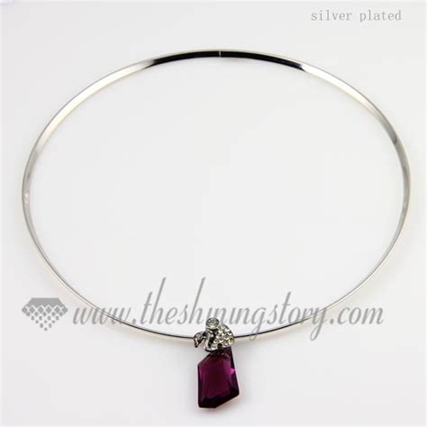 thick steel wire necklaces cord for pendants jewelry wholesale