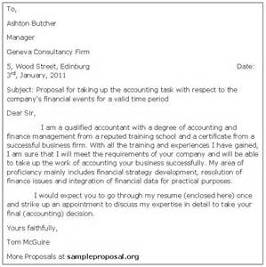 Offer Letter Format For Accountant Pdf Accounting Proposal Letter Sample Proposals