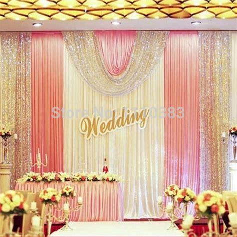 backdrop design wedding sle aliexpress com buy 3m high x6m long luxury white and