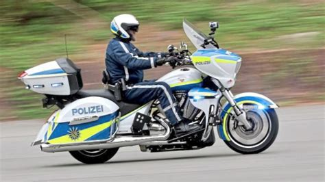 Coole Motorrad Spiele by Neue Polizei Motorr 228 Der Sachsens Cops Jetzt Easy Rider