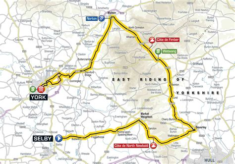 the 2017 tour de yorkshire see maps of the routes tyne tees itv blazing saddles york to star in new tour de yorkshire