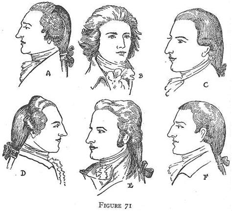 American Revolution Mens Hairstyles | colonial clothing revolution and the new republic 1775 1800