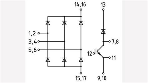 diode bridge tr switch ddb6u84n16rr infineon technologies