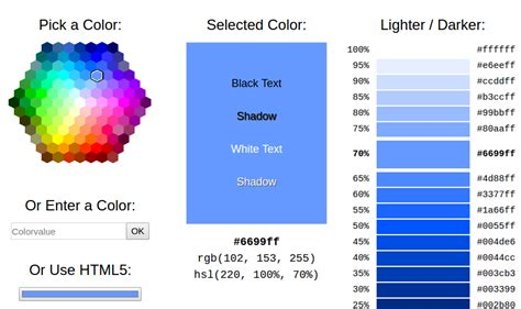 w3schools color picker 11 color pickers every designer should about
