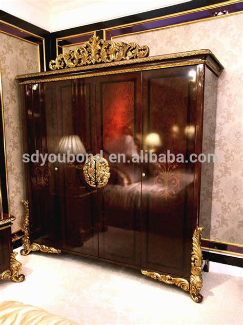 russian bedroom furniture 0063 high quality royal luxury wooden bedroom russian