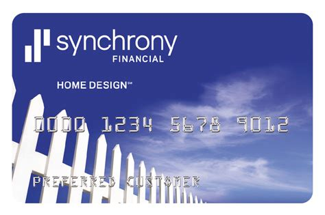 Home Design Credit Card Synchrony Financial
