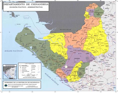 political map of nicaragua political divisions of northeastern nicaragua map mappery