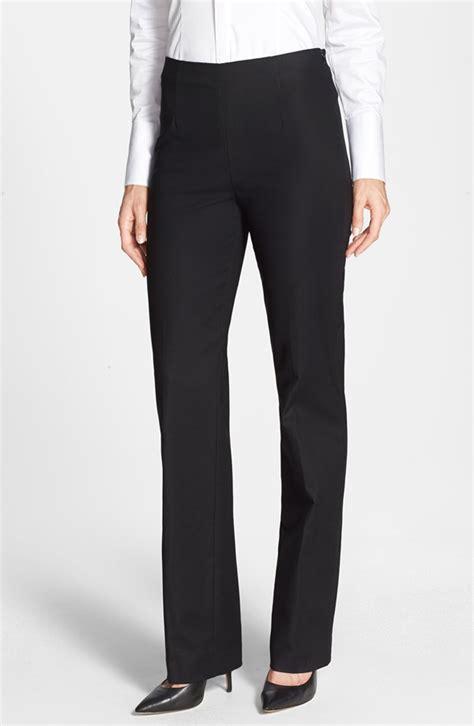 NIC ZOE Side Zip Slim Ponte Pants (Petite)   Nordstrom