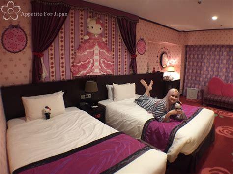 themed hotels in tokyo hello kitty hotel room inside keio plaza tokyo s princess