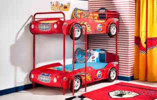 Race Car Bunk Bed 31 Car Beds To Drive Your To Dreamland