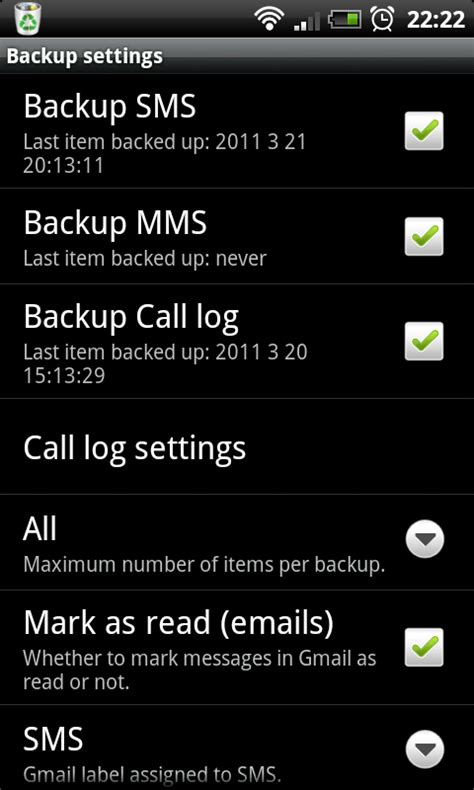 backup sms android sms backup android app reviews androidpit
