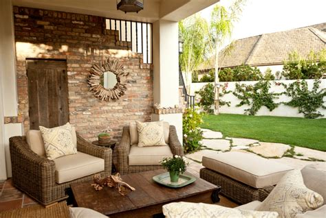 patio living room furniture 31 inspirational outdoor interior design ideas pictures