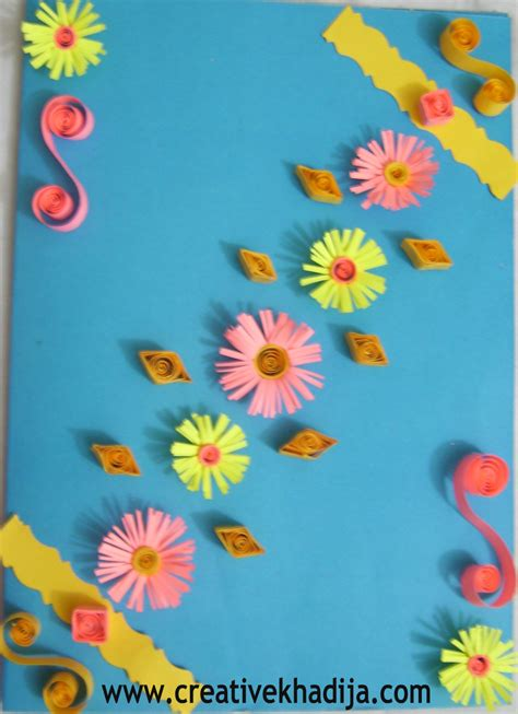Gift Card Making - paper quilling cards