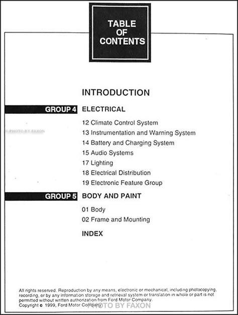 small engine service manuals 2007 lincoln navigator user handbook 2000 ford expedition lincoln navigator shop manual set original repair service ebay