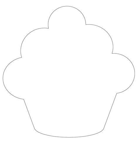 cupcake template to print small fry co cupcake thank you s