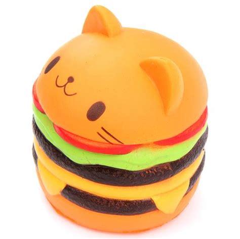 Squishy Burger Jumbo jumbo cat hamburger scented squishy cheeseburger