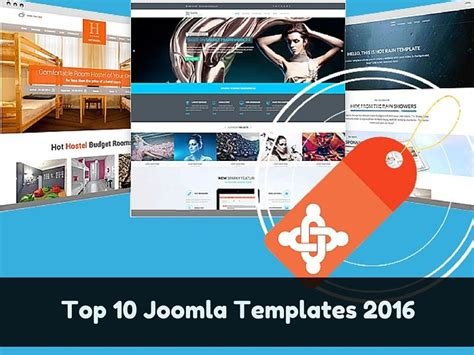 top joomla templates from each category that leads in 2016