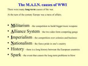 Four Causes Of Ww1 Essay by Four Causes Of Ww1 Essay Four Causes Of World War 1 Essay Pdfs Search Engine
