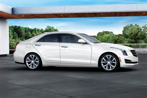 cadillac ats white 2017 cadillac ats sedan white edition side profile 1