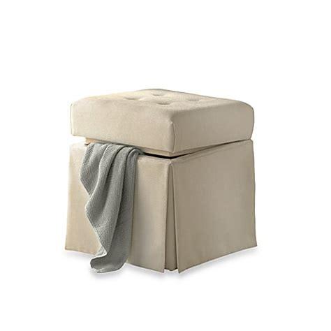 Ivory Storage Vanity Stool Bed Bath Beyond Bathroom Stool Storage